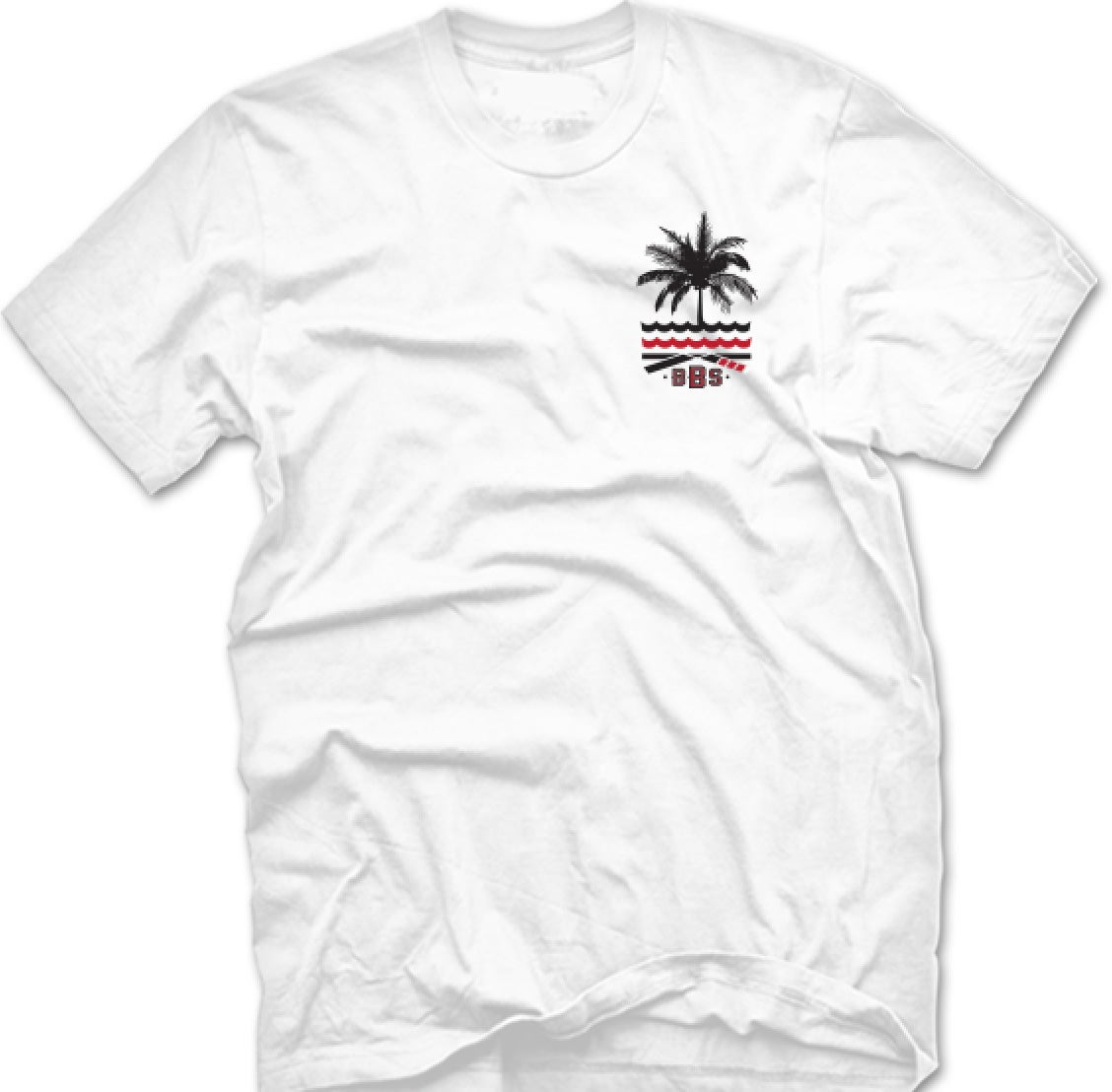 Image of Palms Seas (White)