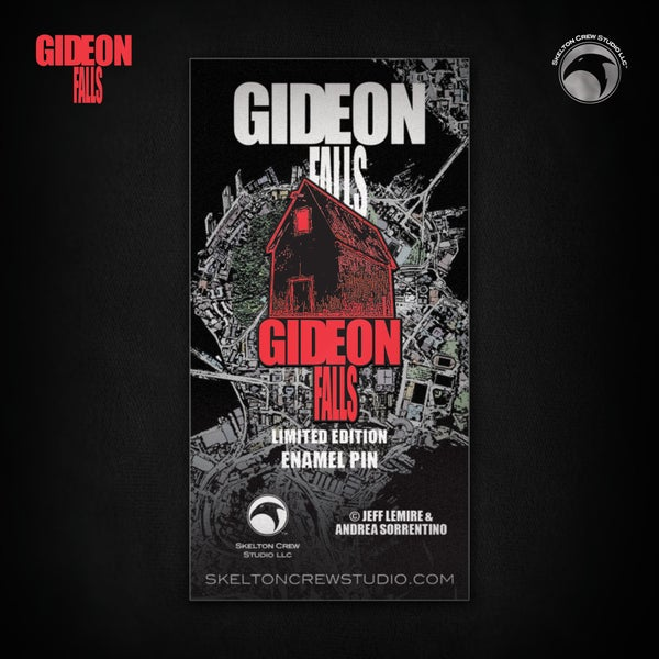 Image of Gideon Falls: Limited Edition The Black Barn pin!