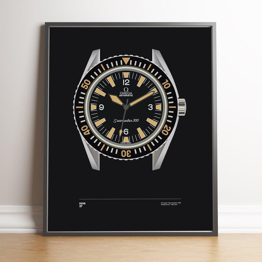 Image of Omega Seamaster 300 print