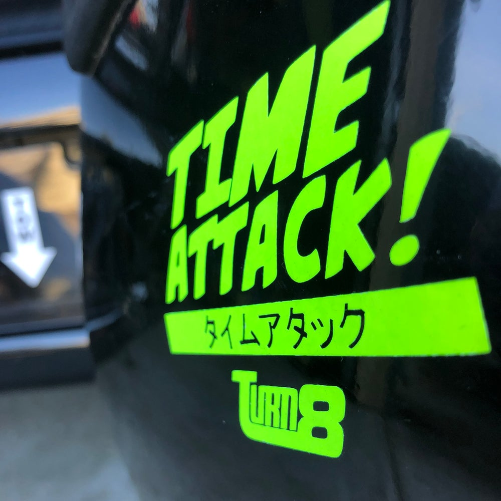 Image of Time Attack Decal