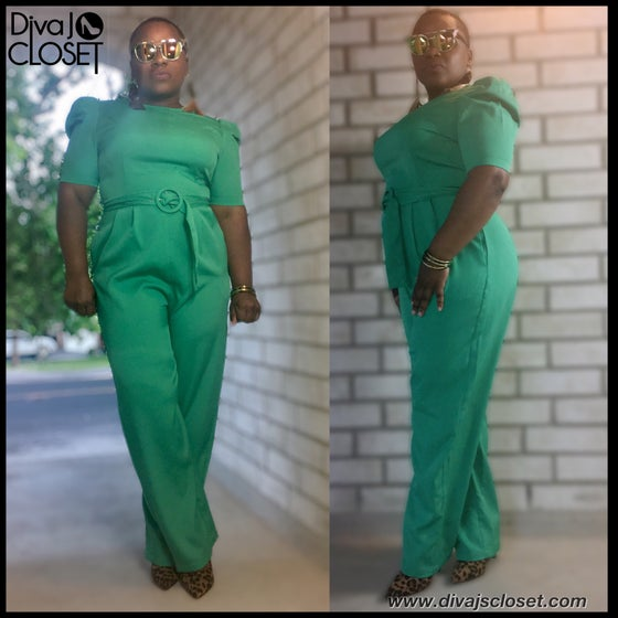 Image of Green Jumpsuit