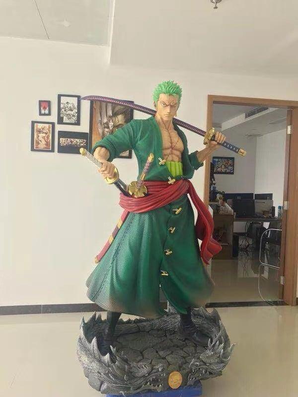 Image of [In-Stock]One Piece Black Pearl Studio Zoro Resin Statue