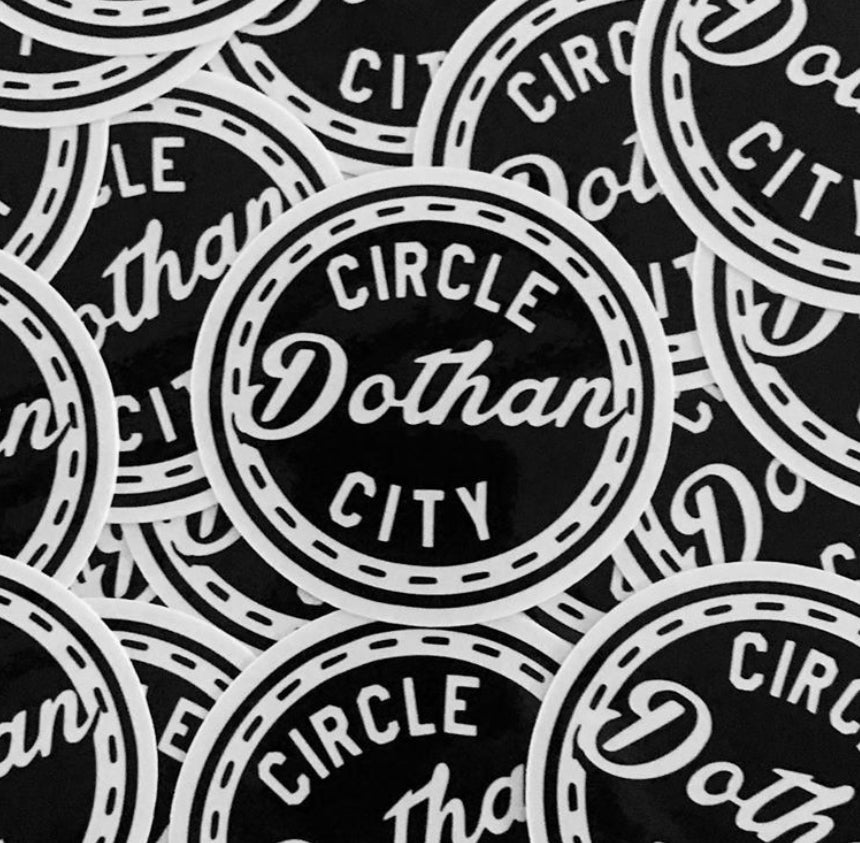 Image of Dothan Circle City Decal
