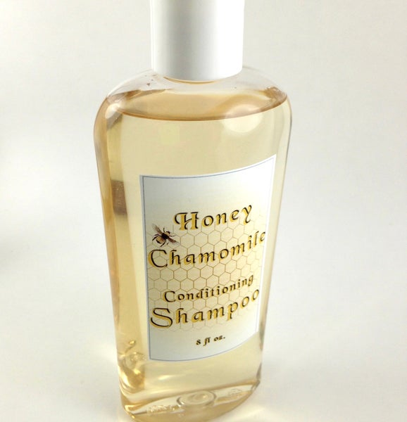 Image of Honey Chamomile Organic Shampoo, Conditioning and Hydrating, pH Balanced and Biodegradable