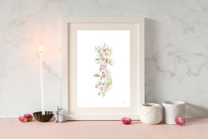 Image of White Blossom Print
