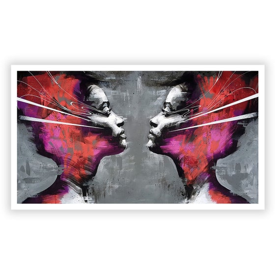 Image of A Collision Of Crazy Composure - OPEN EDITION PRINT - FREE WORLDWIDE SHIPPING!!!