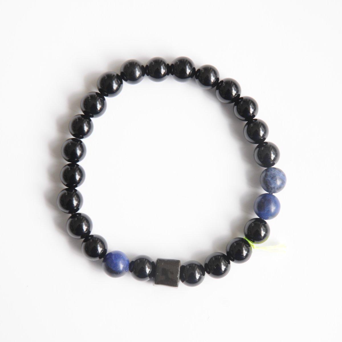 Image of .KUBE. Noir et bleu (pour Homme)