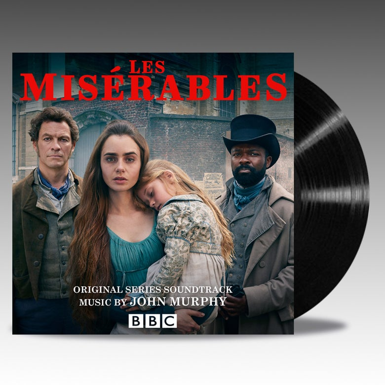 Image of Les Miserables 'Classic Black' Vinyl - John Murphy