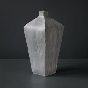 Image of Large Tapered Stripe Vessel by Justine Allison.