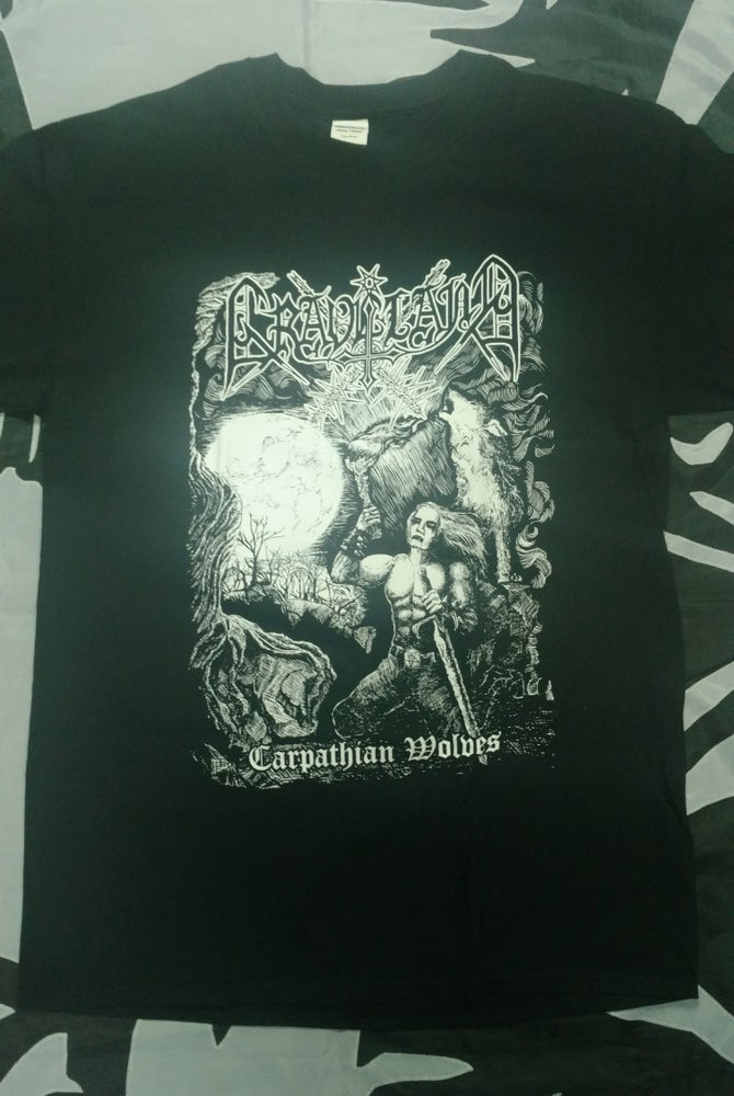 "Image of GRAVELAND ""Carpathian Wolves"" t-shirt"