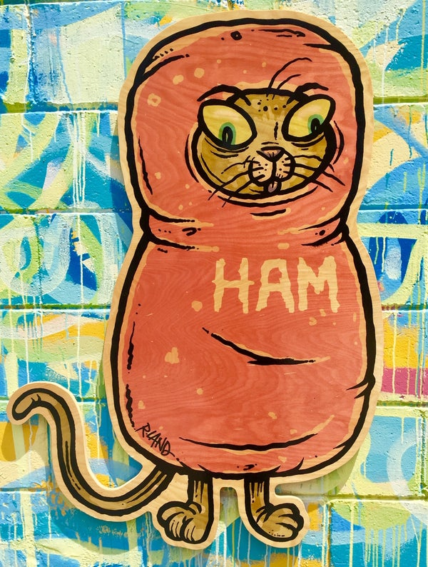 Image of Giant Ham Scout! wall art