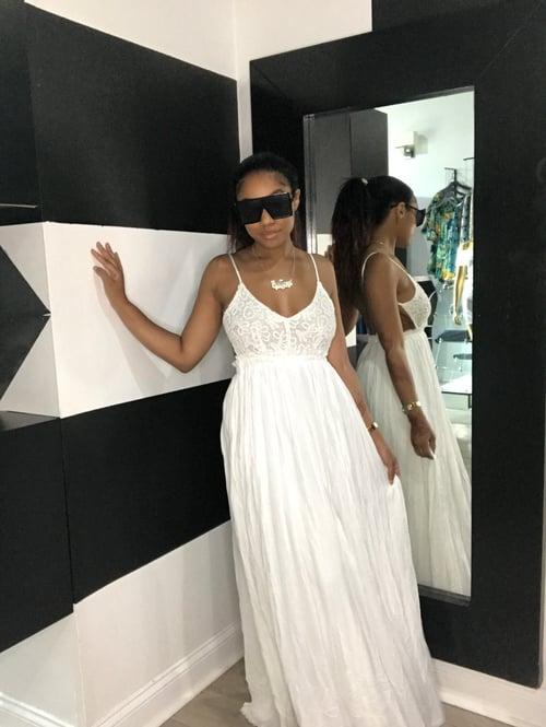 Image of Heaven sent sling back dress
