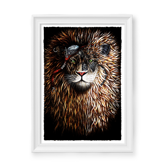 Image of Steampunk Lion