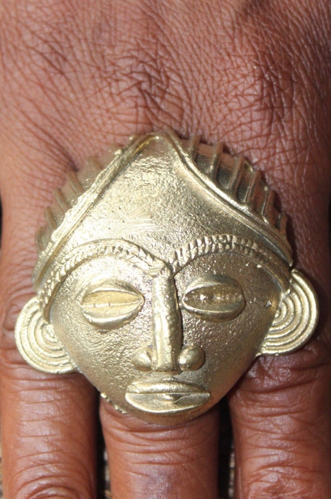 Image of Sculpted statement rings 1