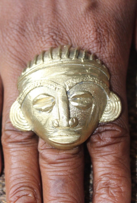 Image of Sculpted statement rings 2