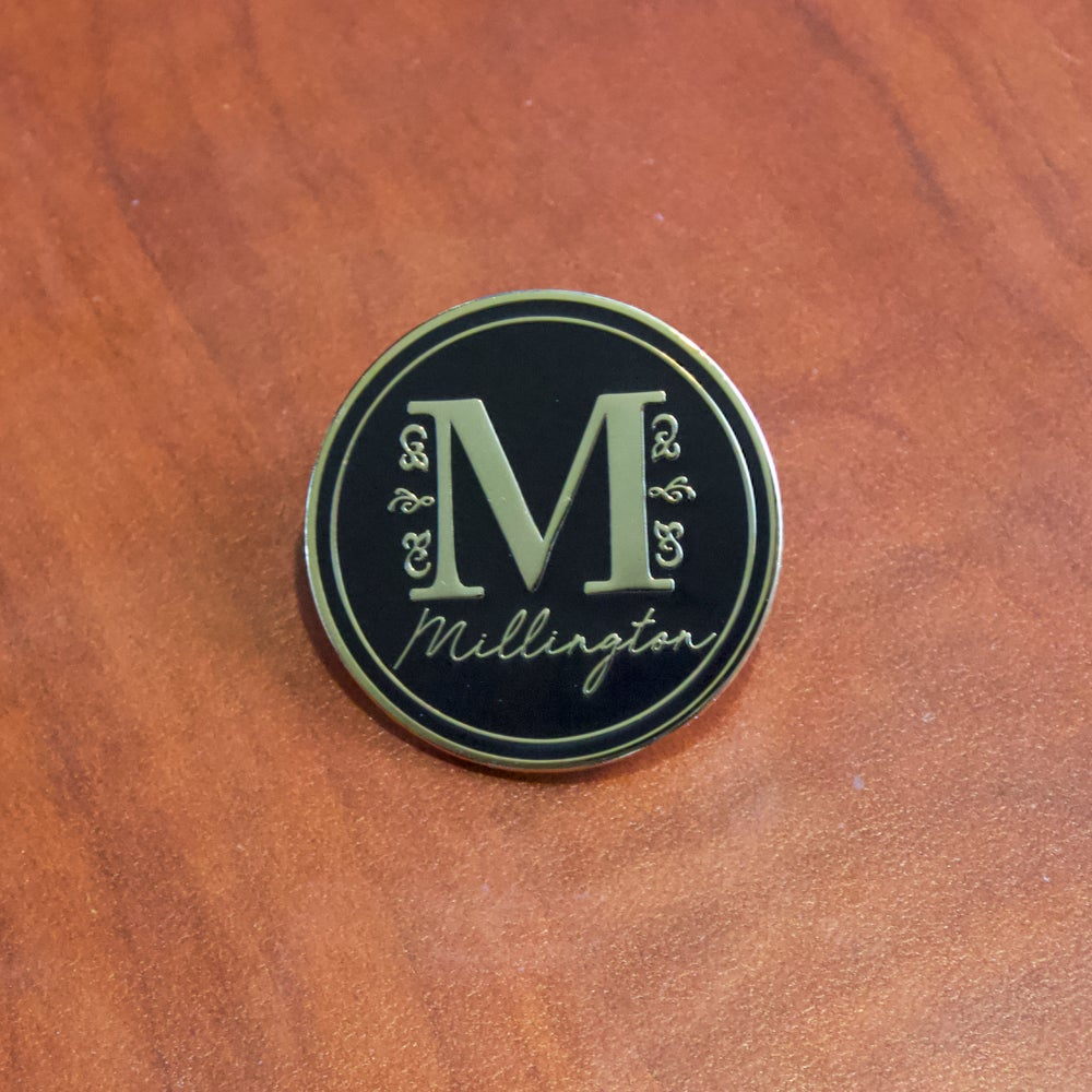 Image of Millington Logo Hard Enamel Pin