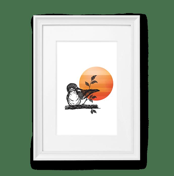 Image of Orange / Yellow Bird #2