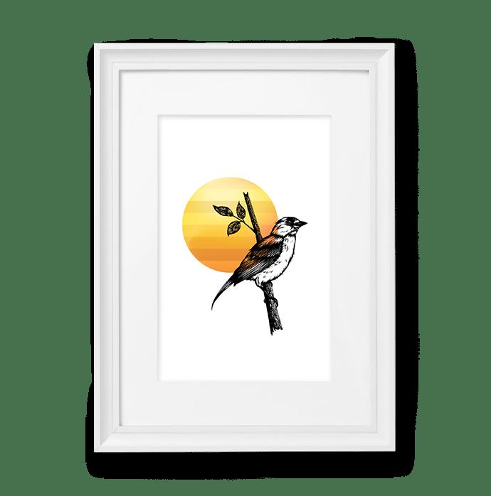 Image of Yellow Bird #4
