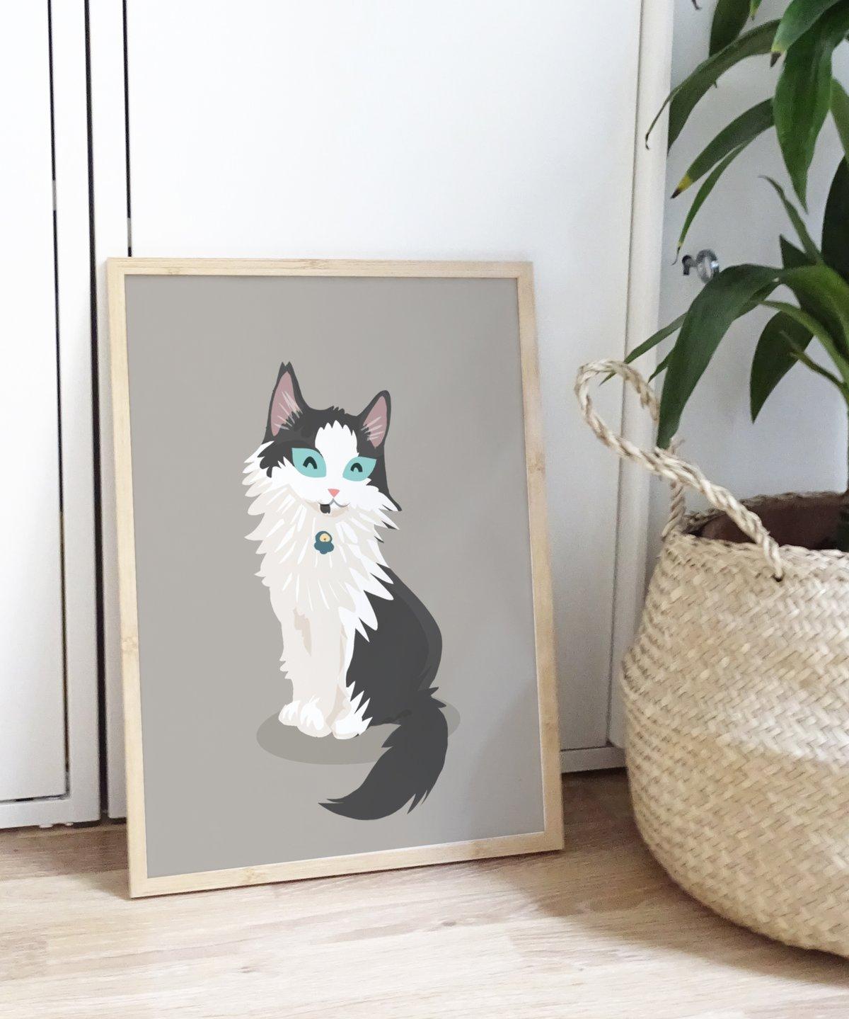 Image of Pet custom portrait