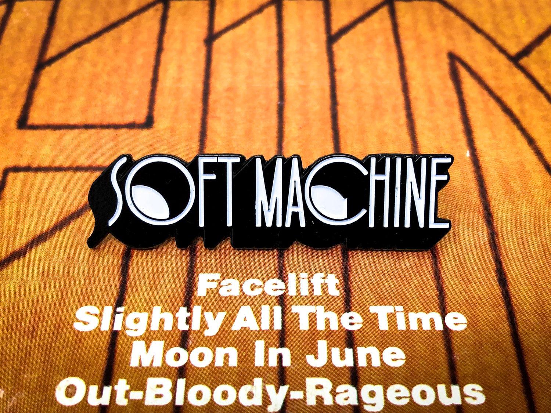 Image of Soft Machine Enamel Pin