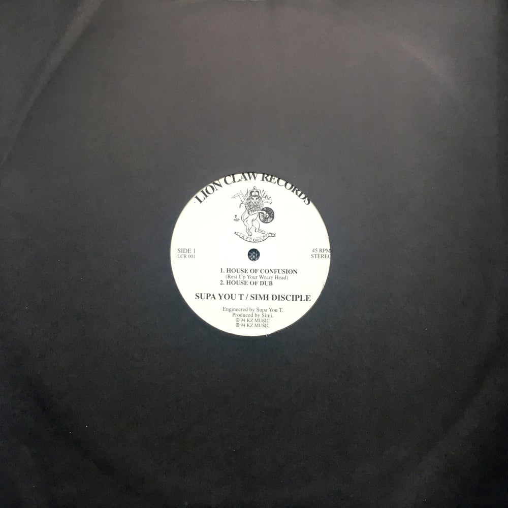 Image of Supa You T & Simi Disciple - House Of Confusion / Mystic Levi - Rivers 12""