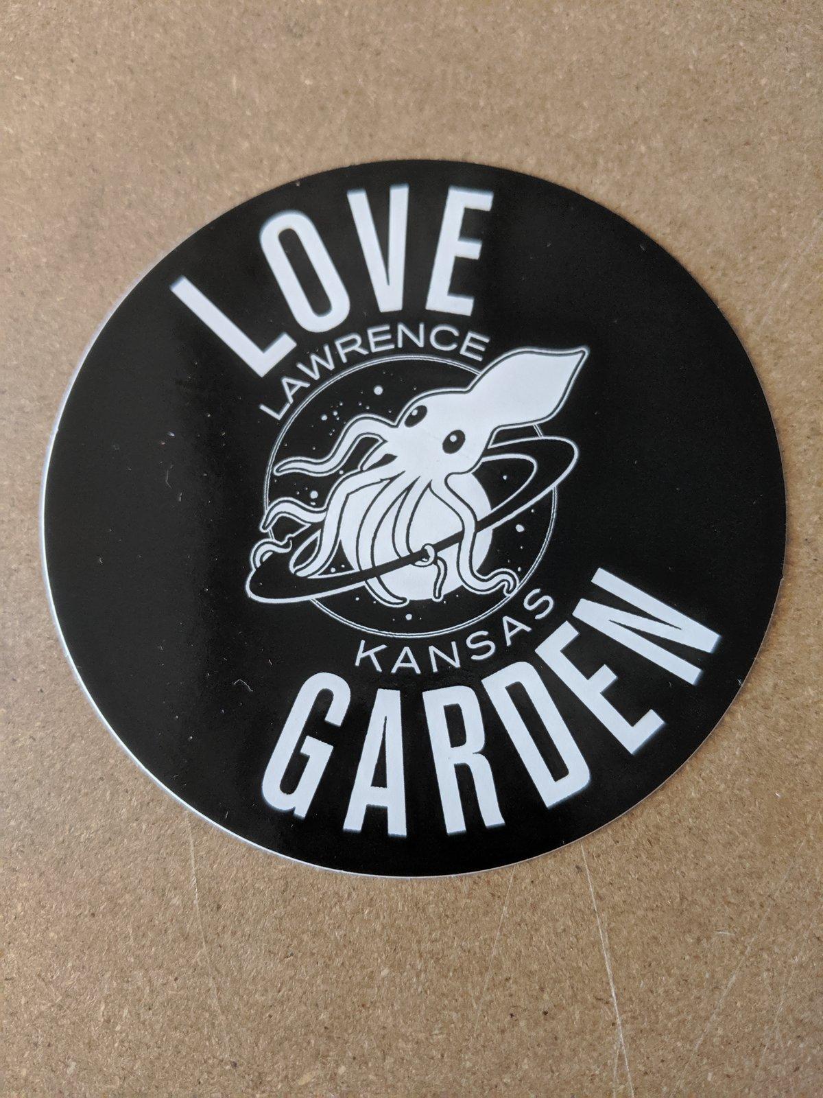 Image of Black Logo Sticker
