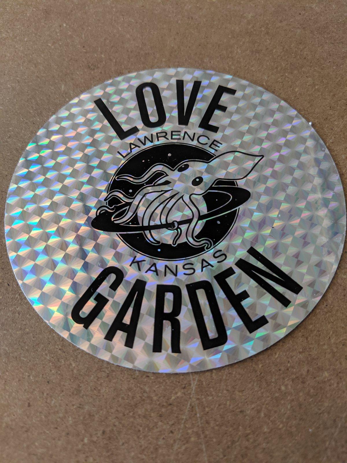 Image of Reflective Logo Sticker