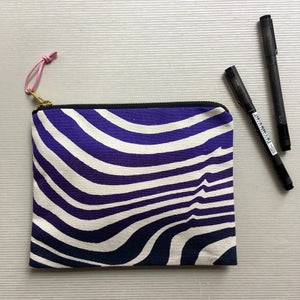 Image of Ripple Wide Clutch Purse