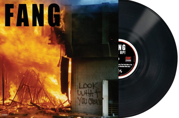 "Image of FANG - Rise Up! - 12"" Black Vinyl"