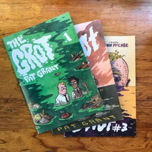 Image of The Grot #1 #2 and #3 - Season One Box Set