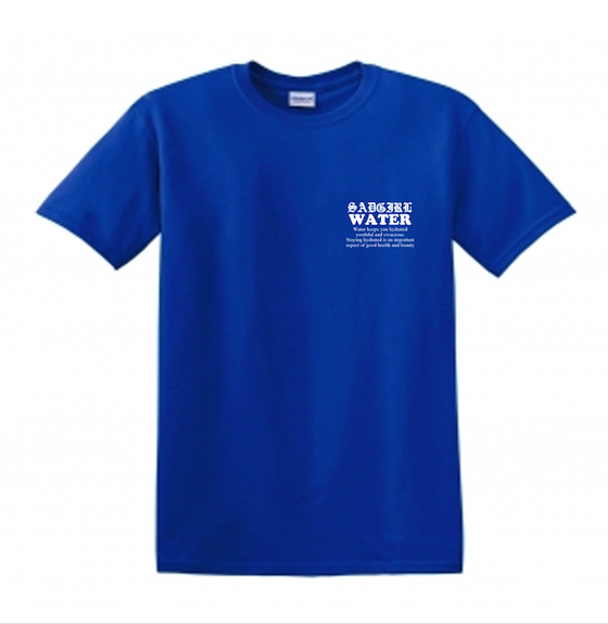 Image of Water Delivery Tee -Blue