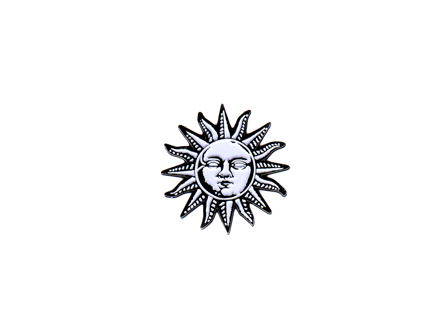 "Image of The Sun 1 1/2"" Enamel Pin"