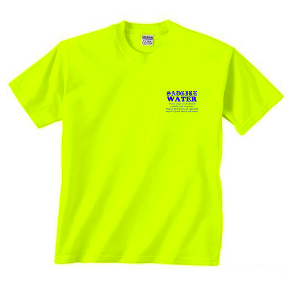 Image of Water Delivery Tee -Neon Yellow
