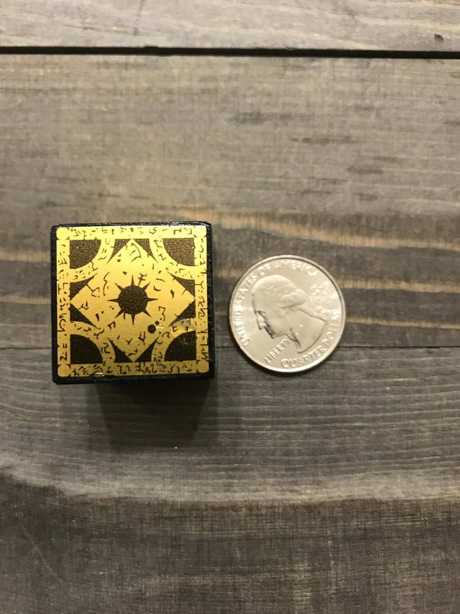 Image of Solid wood Mini Lament Configuration block 1""