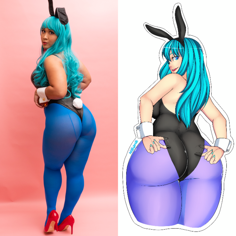 Image of Bunny Bulma Sticker