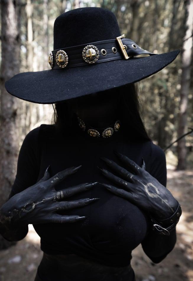 Image of Unholy Hat/Wristband