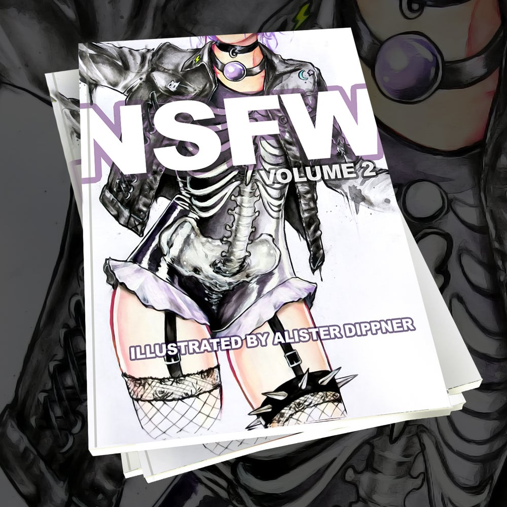 "Image of <font color=""red"">Clearance </font> Softcover ""NSFW: Volume 2"" book"