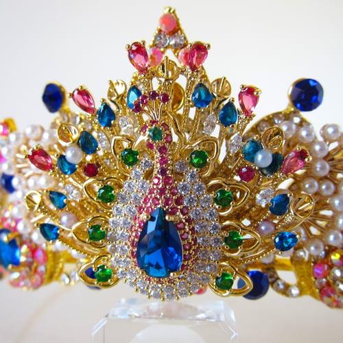 Image of Peacock Majesty tiara