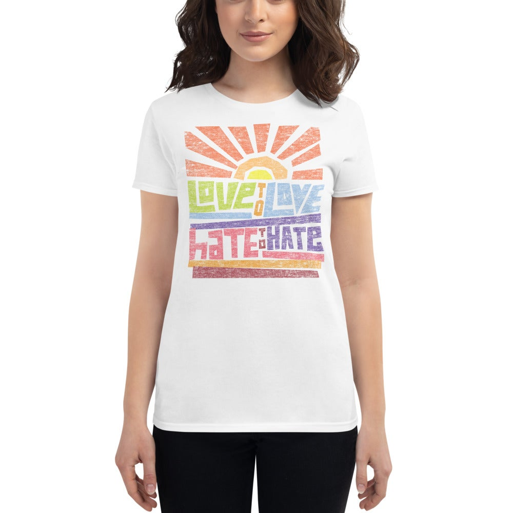 Image of Love to Love Ladies T-shirt