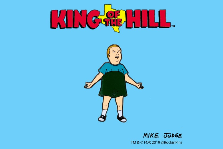 Image of King of the Hill - Bobby Hill 'What Are You Talking About' pin