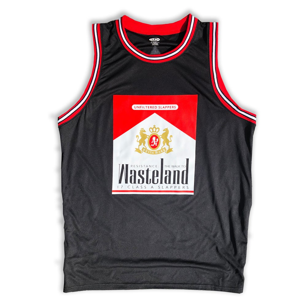timeless design ab400 fcb50 Wasteland Warriors Basketball Jersey