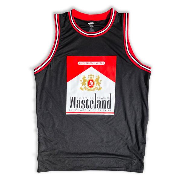 Image of Wasteland Warriors Basketball Jersey
