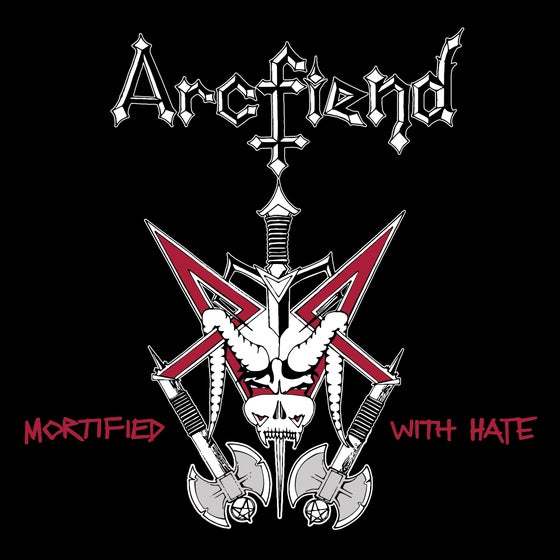 "Image of ARCFIEND - ""Mortified With Hate"" 7"" EP (1987-90)"