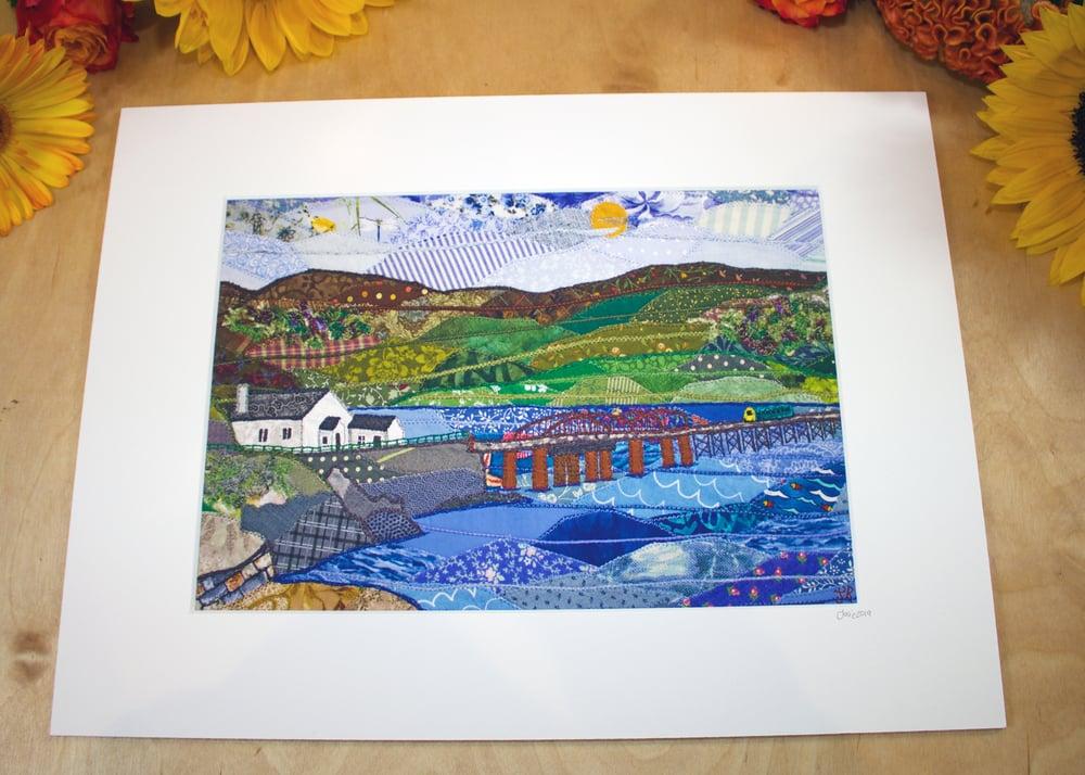 Image of Barmouth Bridge Print