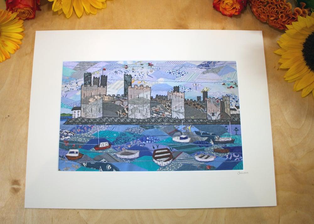 Image of Caernarfon Print