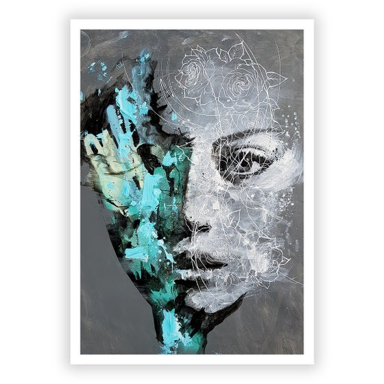 Image of Veil Of Roses - OPEN EDITION PRINT - FREE WORLDWIDE SHIPPING!!!