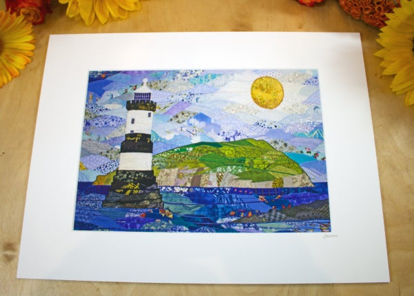 Image of Penmon Lighthouse Print