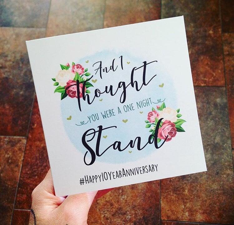Image of One Night Stand - Anniversary
