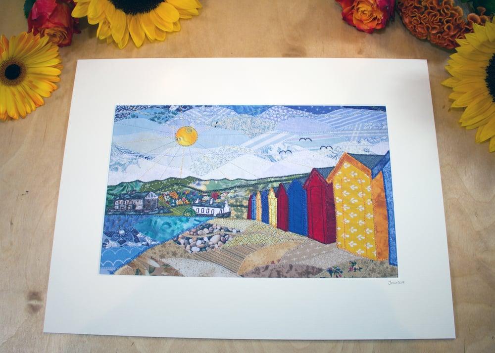 Image of Llanbedrog Beach Print