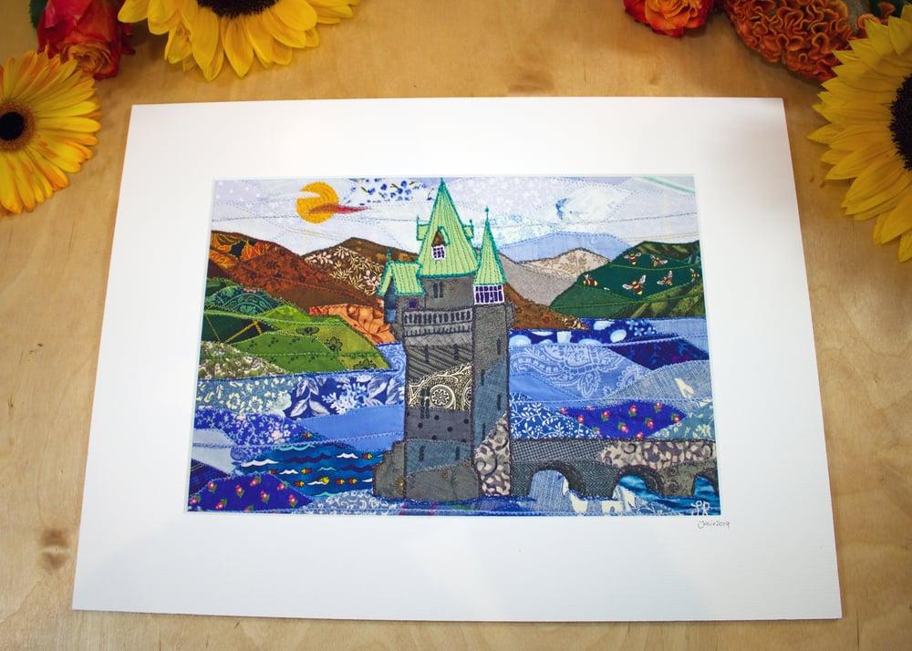 Image of Lake Vernwy print
